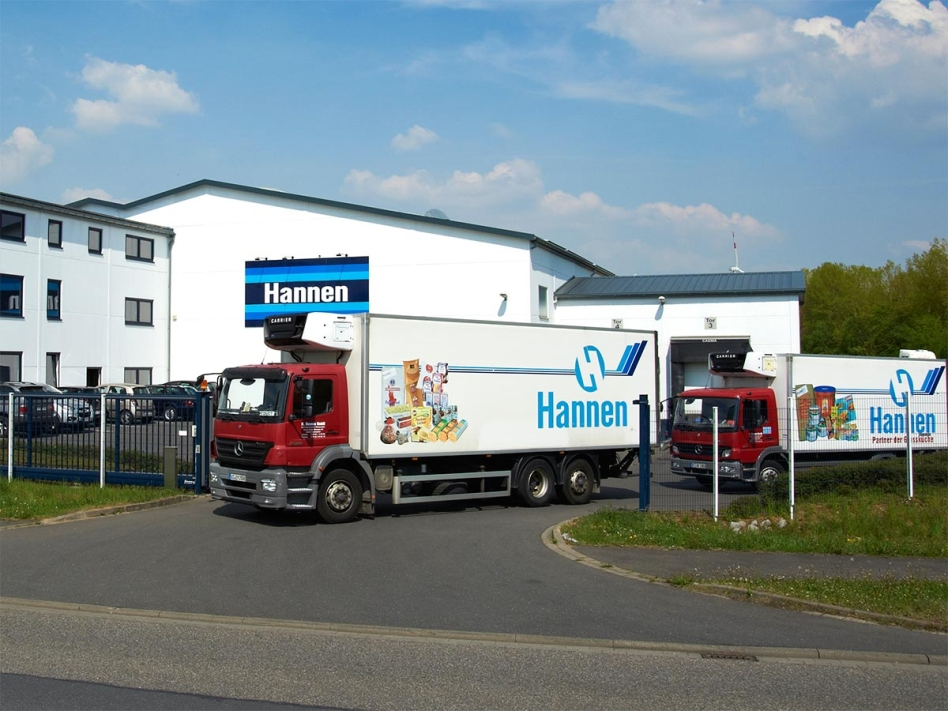 Firmensitz Hannen Lebensmittel